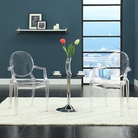 starck ghost chair lexmod
