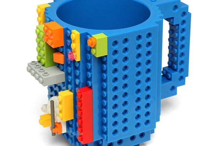 Build-On Brick Mug
