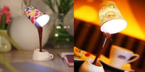 The Next Time You Pour Coffee, This Lamp Will Come To Mind!